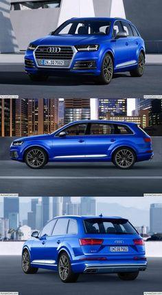 Audi SQ7 TDI (2017) Audi Cars, Audi Suv, Audi 2017, Suv Trucks, Power Cars, Luxury Suv, Car Manufacturers, Cars And Motorcycles, Dream Cars