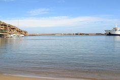 La spiaggia di Calarossano.
