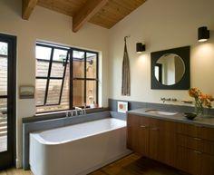 Modern Barn Bathroom, Gustave Carlson Design   Remodelista Architect / Designer Directory
