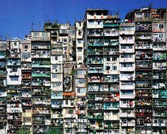 Kowloon Walled City, Hong Kong  Demolido en 1994