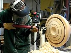 Woodturning Bowl Coring Blooper - Kel McNaughton System - YouTube