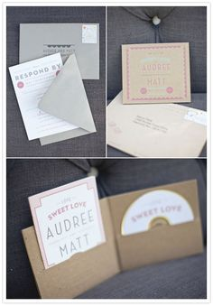Creative use of the Guided RePlay for wedding invites.    http://www.100layercake.com/blog/2011/07/13/malibu-vineyard-wedding-audree-matt-part-1/