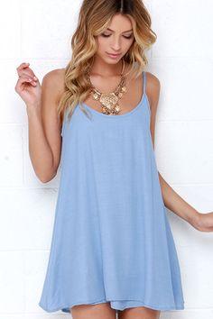 Summer Periwinkle Dress <3