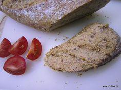 Slunečnicová pomazánka Banana Bread, French Toast, Breakfast, Desserts, Food, Morning Coffee, Tailgate Desserts, Deserts, Essen