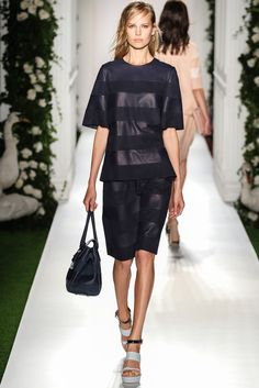 Mulberry Spring 2014 Ready-to-Wear Fashion Show - Cara Delevingne