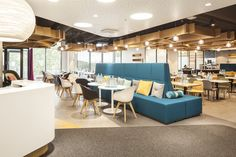 INTO POINT sofas are bringing softness and better acoustics in the restaurant Båx in Ilmala. Helsinki City Center, Airport Lounge, City Library, Cozy Living Rooms, Hotel Spa, Architecture Design, Restaurant, Concept, Interior Design