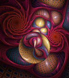 ♥♥ ⊰❁⊱ The Dreamer by Golubaja. ⊰❁⊱ (fractal art)