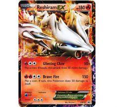Pokemon Card Rare Holo Promo Reshiram EX Low Combined Ship Pokemon Tcg Cards, Pokemon Cards For Sale, Cool Pokemon Cards, Pokemon Trading Card, Trading Cards, Mega Pokemon, Black Pokemon, Star Trek 1, Catch Em All