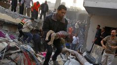 A Gazan toddler killed in the Israel offensive that began on July 8, 2014 on the coastal encalve