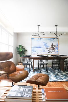 Our Home: Living Room and Dining Room - Hither and Thither