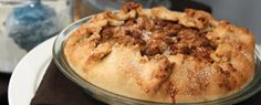 Kyla's Country Apple Crumble Pie