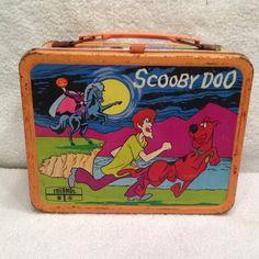 1973 Vintage Original Scooby Doo Lunch Box