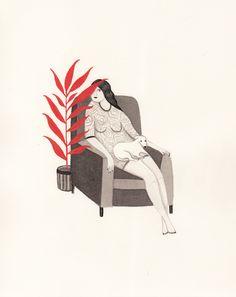 """Enamorado de la serie """"plants"""" de Rachel Levit.         Rachel Levit  vía Booooooom"""