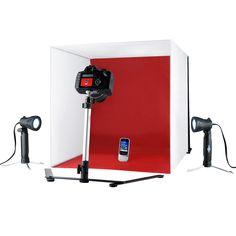 International Shutter Starz Studio ProPhotoz Kit Light Cube