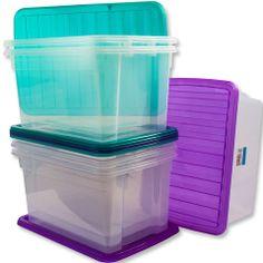 50L Plastic Stacker Box – Yorkshire Trading Company Stackable Storage Boxes, Plastic Box Storage, Trading Company, Yorkshire, Canning, Products, Home Canning, Yorkies, Gadget