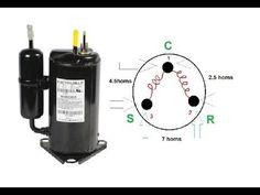 Refrigeración - Compresor - Como conectarlo y probarlo. - YouTube