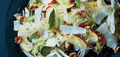 Celery, Fennel and Apple Salad with Pecorino and Walnuts - AOL Food