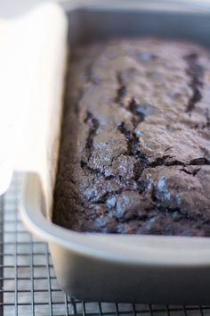 Death By Chocolate Zucchini Bread ~ theviewfromgreatisland.com