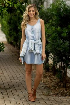 #lookSly vestido jeans