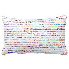 Padraic Text Design II Lumbar Pillow