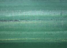 Rosella Namok  Stinging Rain...Wer Rainforest  2011  synthetic polymer paint on canvas  90 x 122 cm  $6,000 AUD
