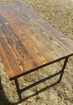 Industrial Dining Table Benson Edition by DSKIndustrial on Etsy