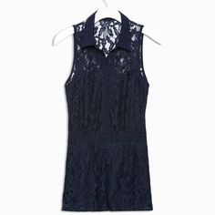 I have a shirt with a lace back like this and I love it. It's super sexy without showing too much skin.