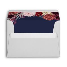 Shop Navy Fall Marsala Blush Peony Wedding Envelopes created by RusticWeddings. Personalize it with photos & text or purchase as is! Burgundy Wedding, Floral Wedding, Fall Wedding, Wedding Ideas, Wedding Inspiration, Wedding Bells, Blush Peonies, Blush Pink, Peony