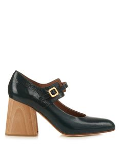 Mary Jane block-heel pumps | Marni | MATCHESFASHION.COM