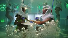 Underwater Nightclub in NYC