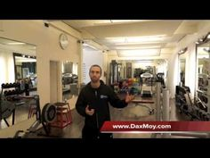 Join James Kahan from Dax Moy's London Personal Training Studio    http://youtu.be/p3GG0fBmBPU