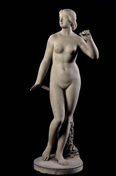 Larkin Goldsmith Mead, 1835-1910 Echo, modeled ca.1862/63, marble, 93,3x38,2x27 cm Smithsonian American Art Museum Inv. 1983.101.1