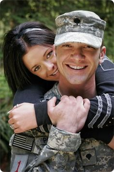 military couple pictures