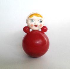 Roly Poly Toy Doll / Nevalyashka / Soviet vintage by FoundinUSSR