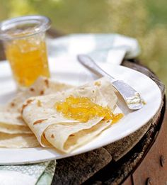 Lefse    Eat like a Norwegian!  mix potato, flour, butter and cream to create this Scandinavian tortilla. Eat it with a smear of butter and a sprinkle of sugar.