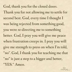 Thank you God for unanswered prayers Steven Furtick, Chris Tomlin, Great Quotes, Quotes To Live By, Inspirational Quotes, Motivational Quotes, Inspiring Sayings, Fabulous Quotes, Awesome Quotes