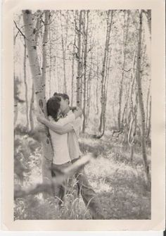Love me in places where the trees are tall and the scenery is moody.