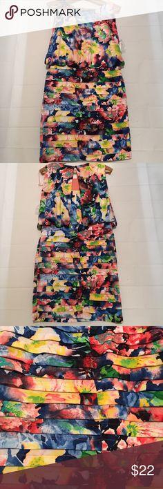 NWT dress barn women's dress NWT women's dressbarn size 8 floral dress Dress Barn Dresses