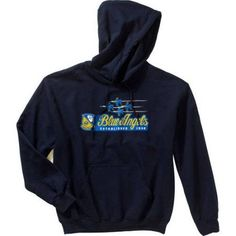 Men's Military Officially Licensed Blue Angels Hoodie, Size: Large