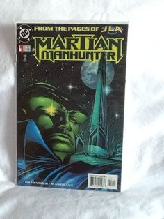 Martian Manhunter #1 (Dec 1998, DC) From the Pages of JLA DC Comic Book