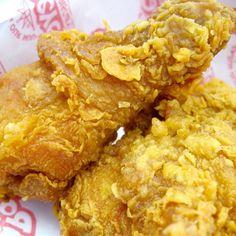 Popeyes Extra-Crispy Spicy Fried Chicken Recipe.