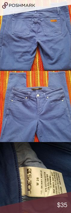 "JOE'S skinny ankle stretch jeans Like new. 29"" inseam JOE'S Jeans Ankle & Cropped"