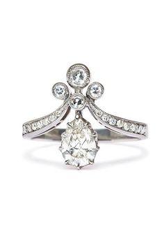 Vintage Engagement Rings Styles   Wedding Engagement   Brides.com