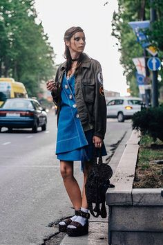 The street style to covet from the streets of Tbilisi Fashion Week