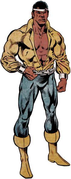 Luke Cage - Hero for Hire - Marvel Comics - 1970s profile
