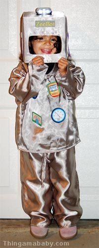 This is the robot costume I'm going to try and make for my son!   But in orange of course!