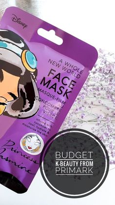 Budget K-beauty Disney from Primark Mask Painting, Paper Mask, K Beauty, Primark, Cruelty Free, Budgeting, Moisturizer, About Me Blog, Skin Care