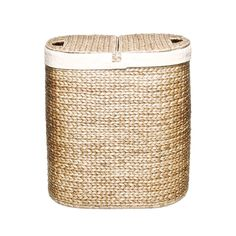 Seville Classics Hand-woven Oval Hyacinth Double Hamper - Overstock™ Shopping - Great Deals on Seville Classics Hampers
