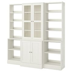 LIATORP Storage combination with doors, white, 108 Are you a romantic at heart? Combine with other furniture in the LIATORP series for a complete, beautiful look. Liatorp, Glass Cabinet Doors, Sliding Glass Door, Glass Doors, Form Design, Solid Pine, Solid Wood, Billy Oxberg, Billy Ikea