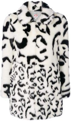 b3fbd3a78a44 Shrimps Lassie animal print faux fur coat